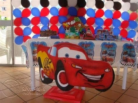 decoracion fiestas infantiles youtube decoracion de fiestas infantiles de cars youtube car
