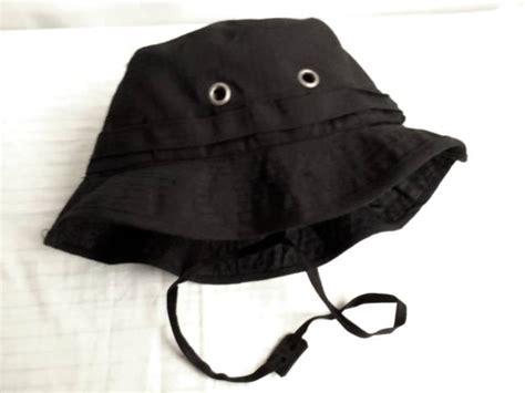 Topi Rimba Hitam Polos jual topi rimba hitam polos niyansuri