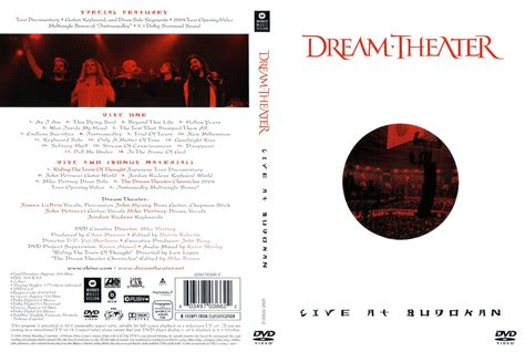 Dvd Import Theater Live At Budokan car 225 tula caratula de theater live at budokan dvd portada