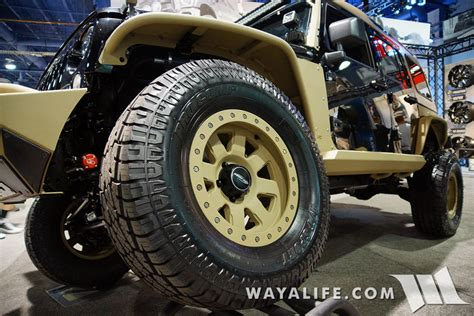 jeep beadlock wheels 2015 sema procomp commando jeep jk wrangler unlimited
