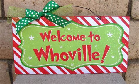 whoville sign welcome to whoville signs design and products