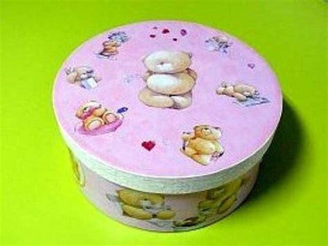 como decorar una caja redonda de galletas cajas de carton facilisimo