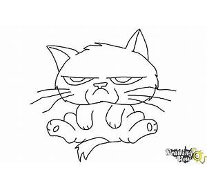 dog coloring pages free printable - Grumpy Cat Coloring Pages