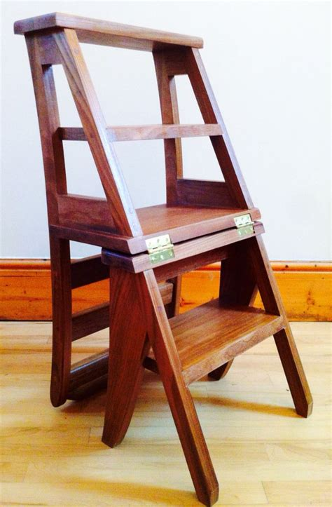 Ben Franklin Chair Step Stool by Ben Franklin Library Chair Step Ladder Mode Rangements