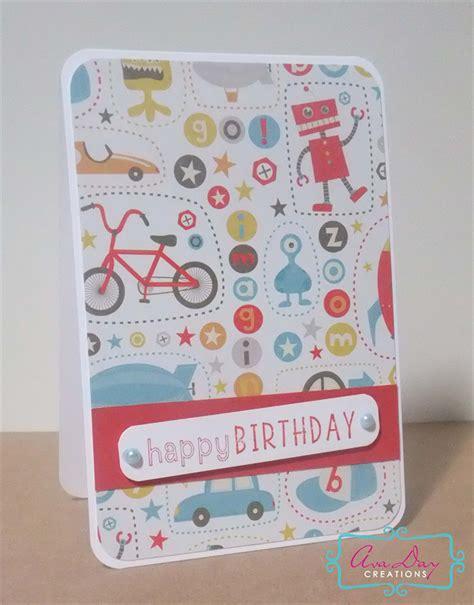 Funky Handmade Cards - handmade birthday card funky boys card avaday