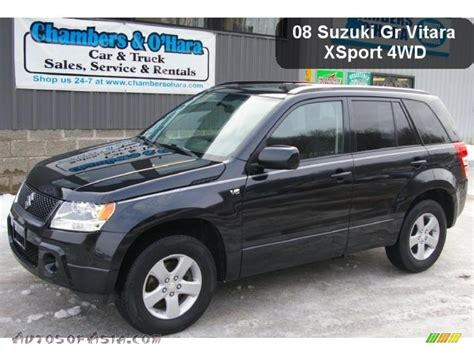 Suzuki Grand Vitara 4x4 2008 Suzuki Grand Vitara Xsport 4x4 In Black Pearl
