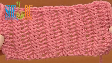knitting stitches easy beautiful sided knit stitch pattern tutorial 20