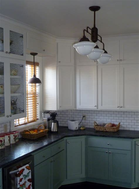 Schoolhouse Pendant Lighting Kitchen Warehouse Shades Schoolhouse Lights Feature In Kitchen Remodel Barnlightelectric