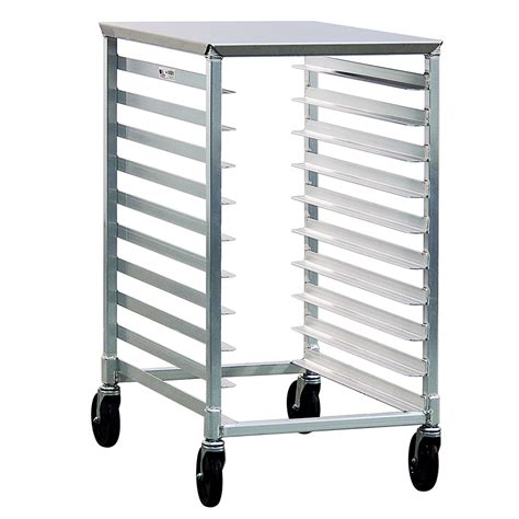 new age 1311 20 38 quot w 10 sheet pan rack w 3 quot bottom load