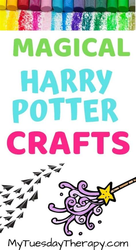 harry potter crafts  activities  muggle