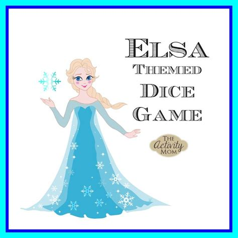 FREE Elsa Dice Game (printable) from The Activity Mom ... Elsa Games Free Download