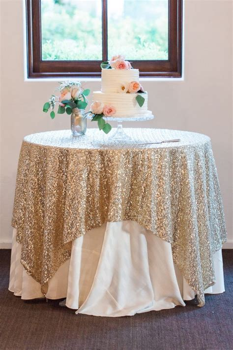 wedding cake table ideas unique wedding ideas add sparkle with sequins cake