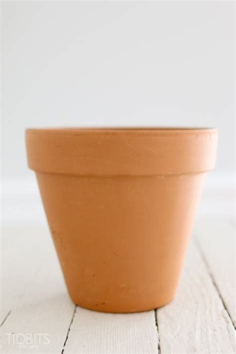Terracotta Planters by How To White Wash A Terra Cotta Pot Summer Front Porch Tidbits