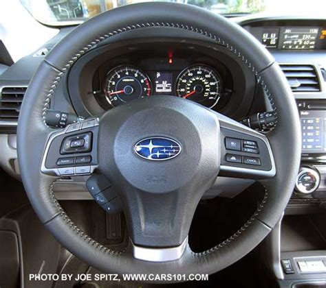 subaru forester steering wheel 2016 subaru forester interior photos