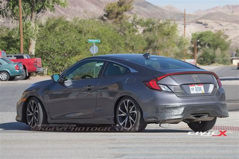 honda civic coupe 2017 2017 honda civic si coupe sighting 2016 honda