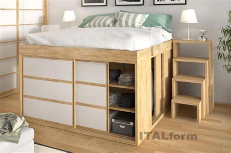 impero storage beds  italform design