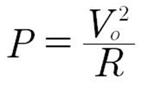 power rating of resistor formula caddock riedon company