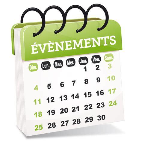 Calendrier Evenement Pratique Une Nouvelle Rubrique Pour Vos 233 V 233 Nements