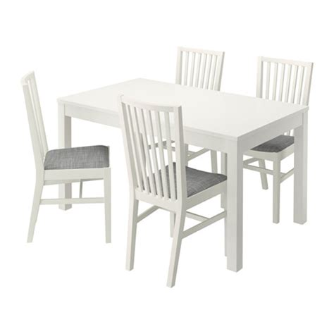 table 4 chaises ikea bjursta norrn 196 s table and 4 chairs ikea