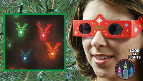 magic christmas glasses bring lights to life