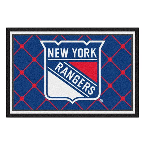 Fanmats New York Rangers 5 Ft X 8 Ft Area Rug 10478 Rugs New York