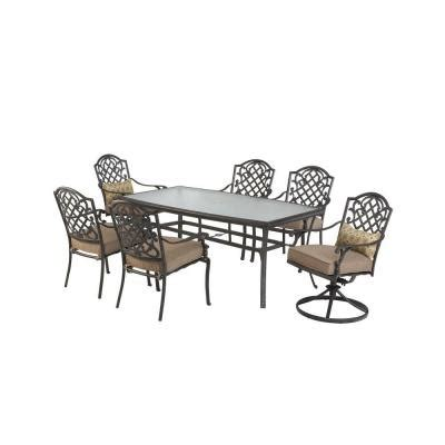 Martha Stewart Living Augusta Patio Dining Chair Set Of 6 Martha Stewart Patio Dining Set