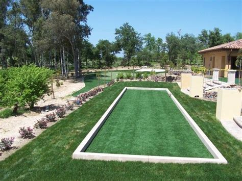 backyard bocce court how you can develop a backyard bocce court awesome
