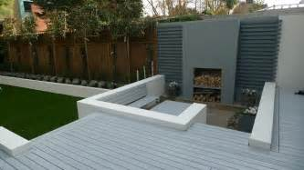 Formal modern back garden design balham london london garden blog