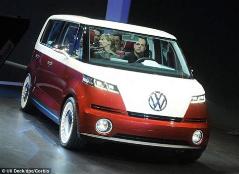 future volkswagen van new vw cer van to be electric powered daily mail online