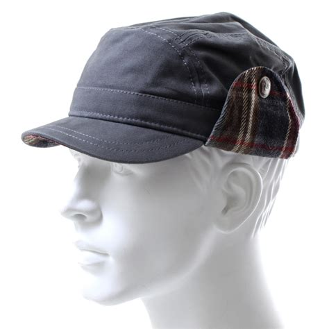 goorin brothers granite ear flap cadet hat evo outlet