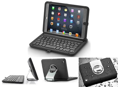 rugged with keyboard a rugged keyboard for the mini at an price the gadgeteer