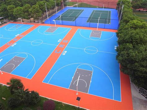 backyard basketball court flooring outdoor basketball court flooring