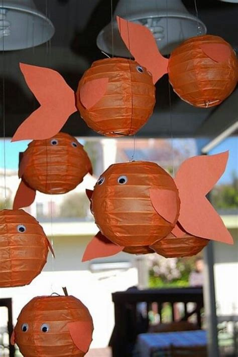 How To Make Paper Lantern Fish - 1000 ideas about fish lanterns on the