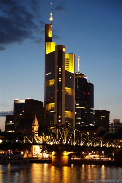 komerz bank commerzbank tower at frankfurt pictures