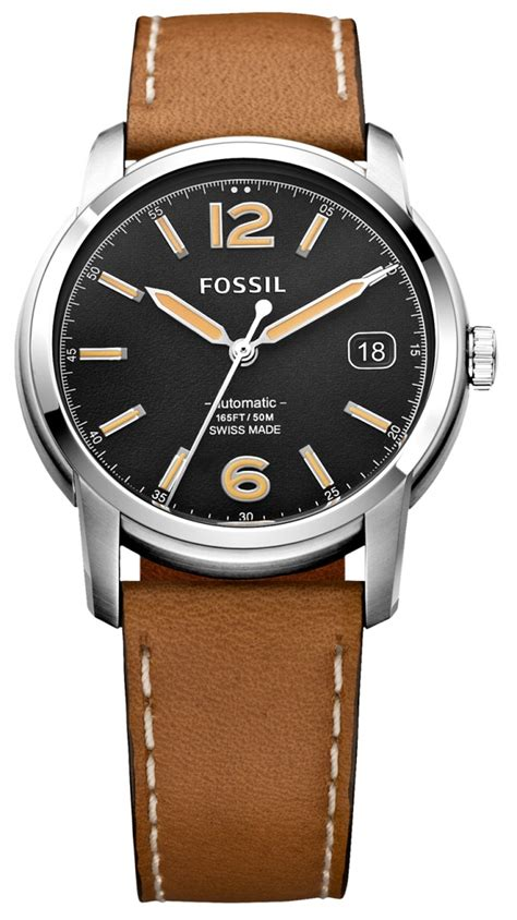 is fossil ready for an 895 swiss automatic