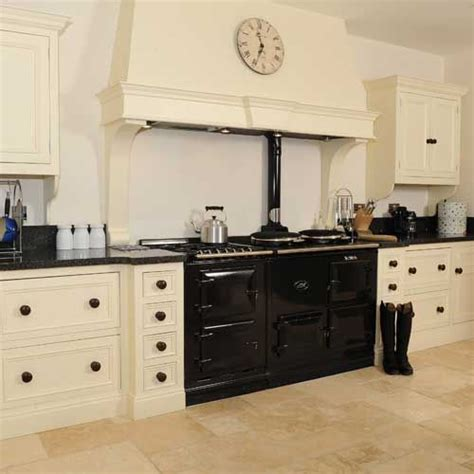 cream and black kitchen ideas cream kitchen with black appliances hand painted cream