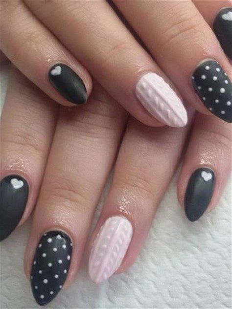 knitted nail art tutorial knitted nail art mania glamour it