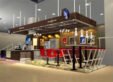 Interior Design Simulator Free supermarket food showcase coffee kiosk for sale china