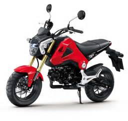 Www Honda Motorcycle More Pictures Of The 2013 Honda Msx125 Motorcycle News