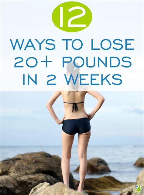 Lose 20 Pounds In 2 Weeks Detox by 12 Expert Secrets For Weight Loss Lose 20 Pounds In 14