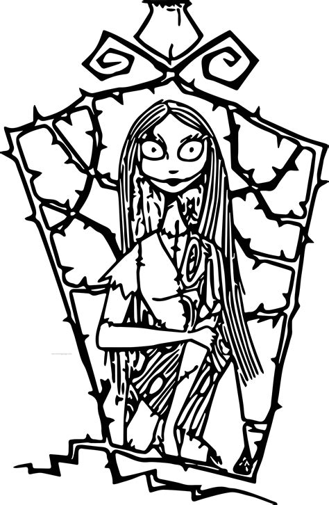 Coloring Pages The Nightmare Before Christmas | the nightmare before christmas coloring pages coloring home