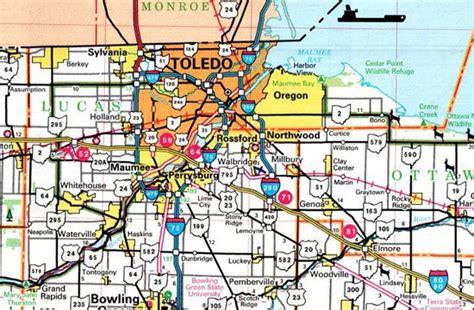 Lucas County Search Lucas County Ohio Map Ohiobiz