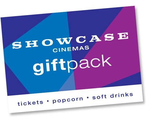 Showcase Cinema Gift Card - showcase cinemas movie showtimes tickets gift cards