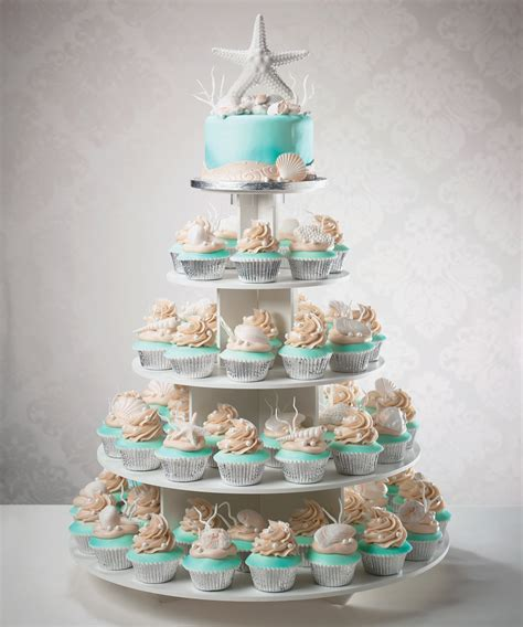 Wedding Cupcakes Ideas by Wedding Cake And Cupcake Tower For A Destination