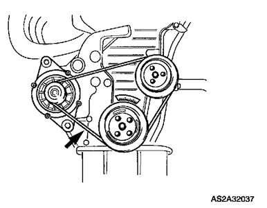 2003 Kia Spectra Alternator How Do I Change Alternator Belt 2003 Kia Spectra Fixya
