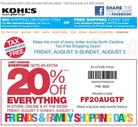 email format of kohls 5 maneras de personalizar tu web