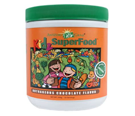 Master Cleanse Detox Powder Grass Root by Kidz All Superfood Chocolate Drink Powder
