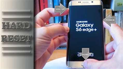 reset on samsung galaxy s6 samsung galaxy s6 edge plus hard reset factory reset