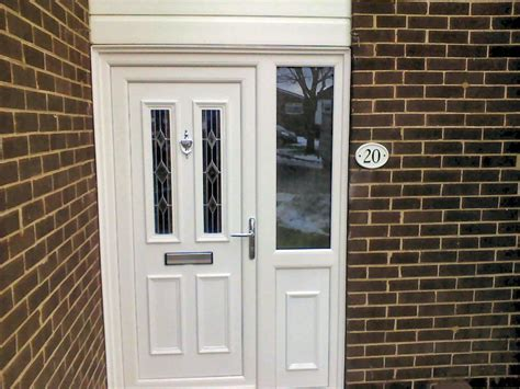 White Pvc Front Doors Kommerling Pvcu Door Installers Tyne And Wear White Or Coloured Pvc Doors Fitted