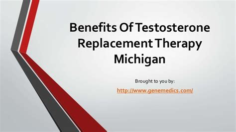 therapy michigan benefits of testosterone replacement therapy michigan